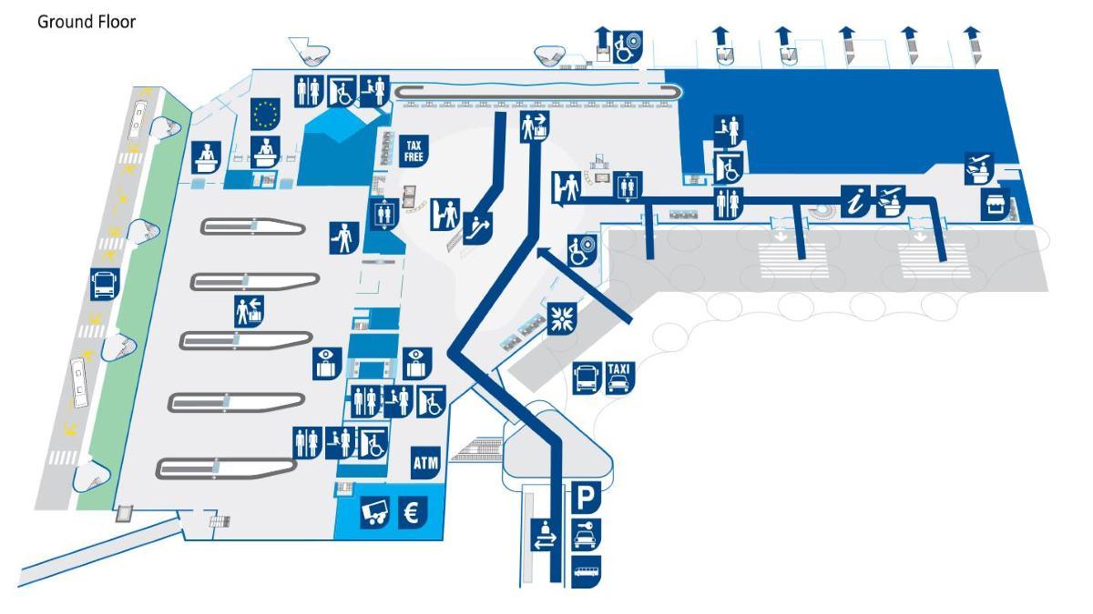 Ground floor map